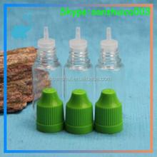 eliquid black pet 10ml plastic dropper bottle for engine oil with childproof cap