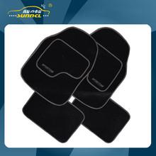 2015 Durable Full Set Car Floor Mats with Customized Logo Embroider , Heavy Duty Carpet Floor Mat , 4PCS / SET