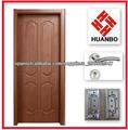 El diseño moderno de la puerta del pvc interior