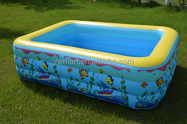 Wholesale Best Selling Kids Plastic Swimming Pool Hard Plastic Inflatable Swimming Pool For