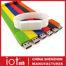 Slap Bracelet Promotional Gift Bulk 1GB USB Flash Drives
