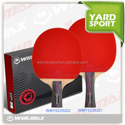 Winmax new desigh high quality table tennis rackets