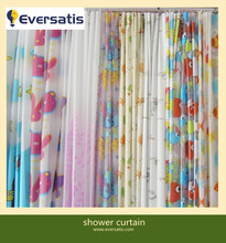 kinds of PEVA shower curtain with rings