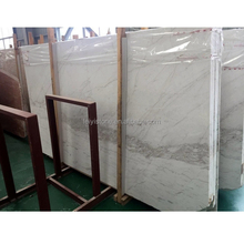 Natural big marble 18mm volakas white from Greece
