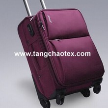 recycled material /recycled polyester oxford/recycled textile for trolley case/suitcase/luggage