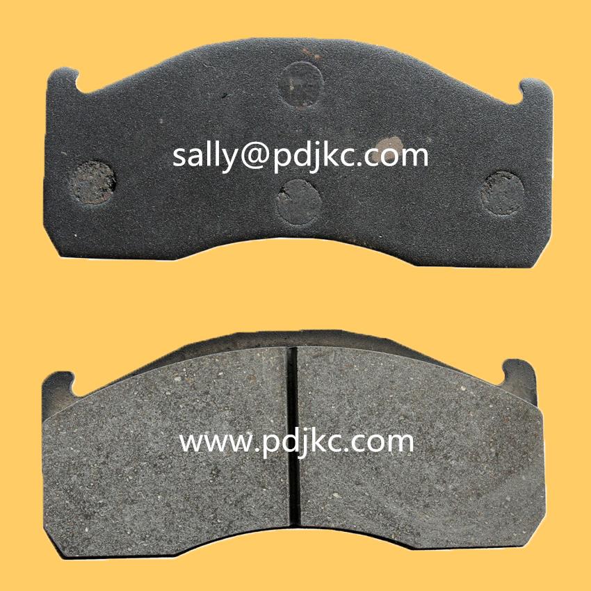 Brake Pad Material Types : Volvo truck brake pads in asbestos free material wva