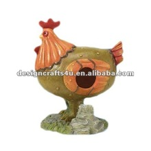 Made in China Custom Handmade Chicken Shape Bird Cage