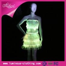 Éclairage lumineux sexy latine salle de bal robes de danse vêtements