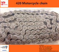 china motorcycle spare parts black 420 motorcycle chain