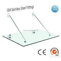 Glass Door Canopy/door or window Awning full set fitting