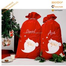2015 new arrival christmas gift bag/christmas tree bag/santa sack bag with drawstring