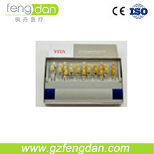 Dental digital shade guide tooth color comparator