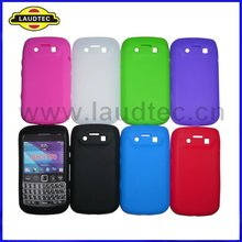 For Blackberry Bold 9790 soft case cover silicone case colorful top quality wholesale