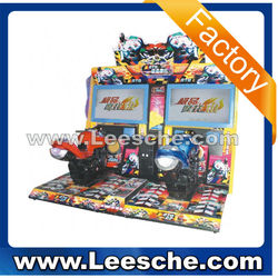 LSRM-013 kids best coin pusher Moto 42LCD electronic simulator maximum tune arcade game machine motorcycle for game center
