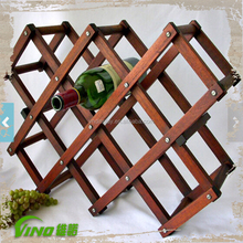 Home Decor Wooden Wine Rack Bottle Display Stand Wine Rack