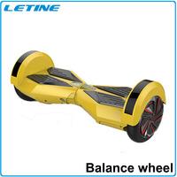 CE FCC ROHS BQB 8inch bluetooth LED Light smart self balance 2 wheels electric scooter