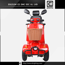 vespa style portable BRI-S02 zhejiang eec electric three wheel scooter