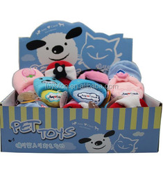 Amy Carol dog products soft slipper family plush pet toys