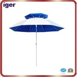 2015 fiberglass ribs slim promotional straight umbrella