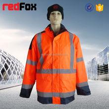 hi vis protective rain gear