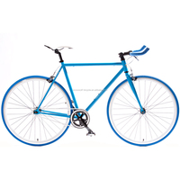 blue baking flip flop bicycle alloy frame with seamless welding SW-700C-B106