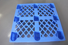 cheap price free sample used small meshed 9 legs 4 way entry feet plastic pallet