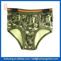 Comfortable Camouflage Green Young Mans Brief Underwear 039