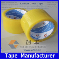 Korea Market Box/Carton Honey-Colored or Golden Adhesive Tapes Suppliers