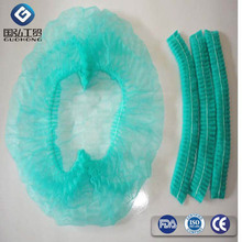 non woven surgical accessories disposable bouffant round cap