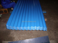 Used metal colored corrugated roofing sheet zinc good price for sale