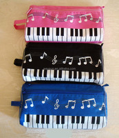 school supplies student music note pencil case piano note pencil box