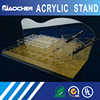 customized transparent solid bottle holder acrylic stand