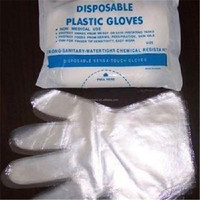 high quality transparent food service gloves for house keeping
