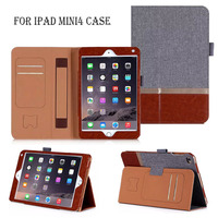 Cheap Price 3 Folding Flip Leather For Ipad Mini 4 Protective Case