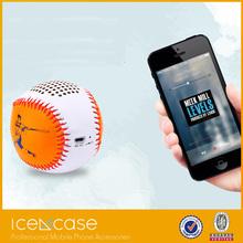 baseball wireless bluetooth speaker, Baseball Shape Mini Bluetooth Wireless Mobile Phone speaker