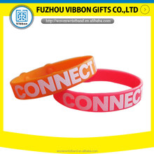 colorful custom silicone bracelet for promotion