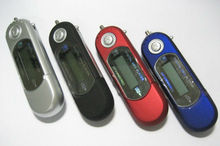 AAA battery digital SD mp3 player with recording function
