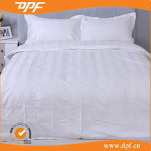 100% organic cotton white printed bedsheet