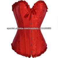 mix size mix color sexy satin lumbar corset hot open mature lingerie ladies