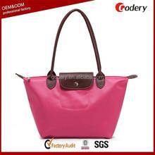Fashion Recycle Foldable Bag Nylon for Shopping