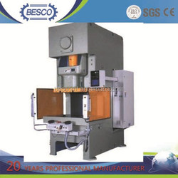 power press JH21 aluminum foil container product line hydraulic press used punch tool to make pot high speed punching machine