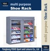 FC118 Substantial stackable fabric nonwoven shoe storage cabinet