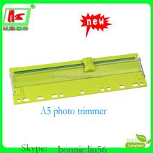 Bonito mini cortador de papel trimmer guilhotina de corte de plástico
