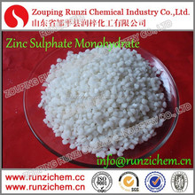 Full Water Soluble White Granular Zinc Sulfate Monohydrate