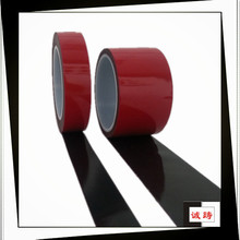 Black White Transparent Grey 3M Adhesive Foam Tape For Car Accessories With ISO9001, TS16949 Certificates