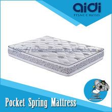 Single Side Vacuum Packed Pocket Spring Mattresses