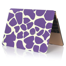 """Pattern Printing Hard Shell Protective Case for Macbook New Macbook 12"""" inch Retina [2015 Release](Purple Breaking Ice)"""