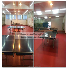 Sports Pvc Flooring/Badminton Pvc Flooring/Table Tennis Pvc Flooring/Basketball