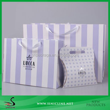 Sinicline New In Unique Stripe Design Shopping Bag On Seal