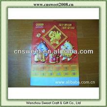 3d embossed pvc poster for advertising gift